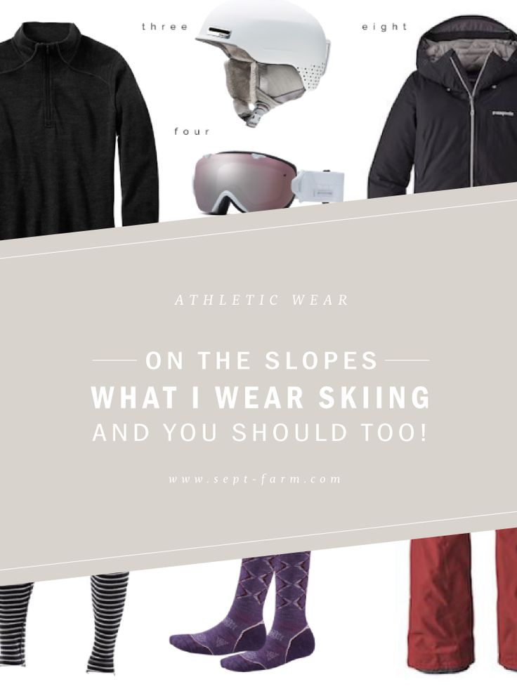 WHAT I WEAR - SKIING - everything you need for a warm, cute, comfortable day of skiing, women's ski clothing, attire, outfit #septfarm #septemberfarm #womensskioutfit