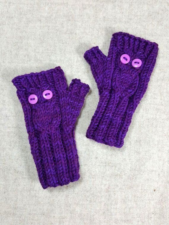 Fingerless Gloves With Owl For Babies And Toddlers Baby Accessory