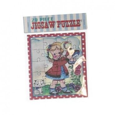 Mini 20 Piece Jigsaw - Dolly Girl - Party Bags & Toy Fillers - Party