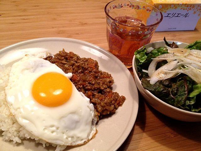 こないだ散々カレー食べたけど…笑 - 4件のもぐもぐ - ドライカレー by yuri0821
