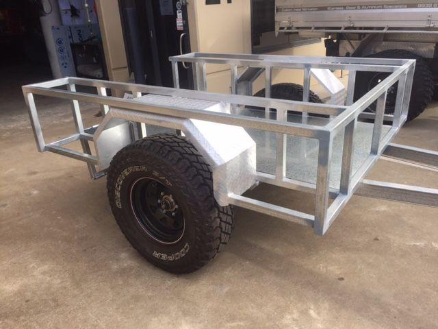DIY 4WD Box Trailer   My Blog