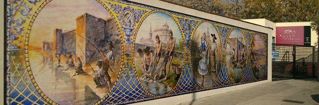 Post sobre mural cerámico #MarcaTalavera