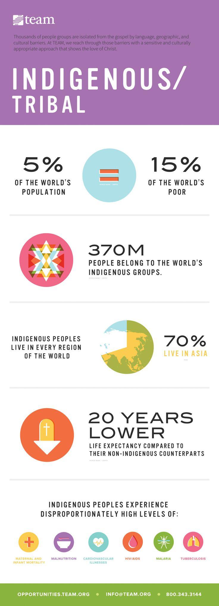 TEAM Infographics -  indigenous infographic