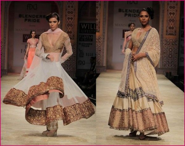 Manish Malhotra 2012 Bridal Collection At WIFW https://www.facebook.com/manishmalhotrapage