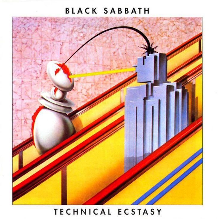 Black Sabbath, Technical Ecstasy (1976) -  Storm Thorgerson