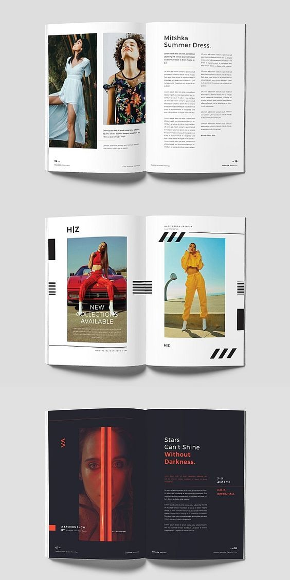 Indesign Fashion Magazine Template Brochure Brochuretemplate Brochuredesign Layout Layoutdesign Templ Disney Art