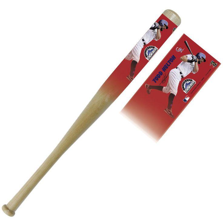 Todd Helton Colorado Rockies 34'' Player Bat