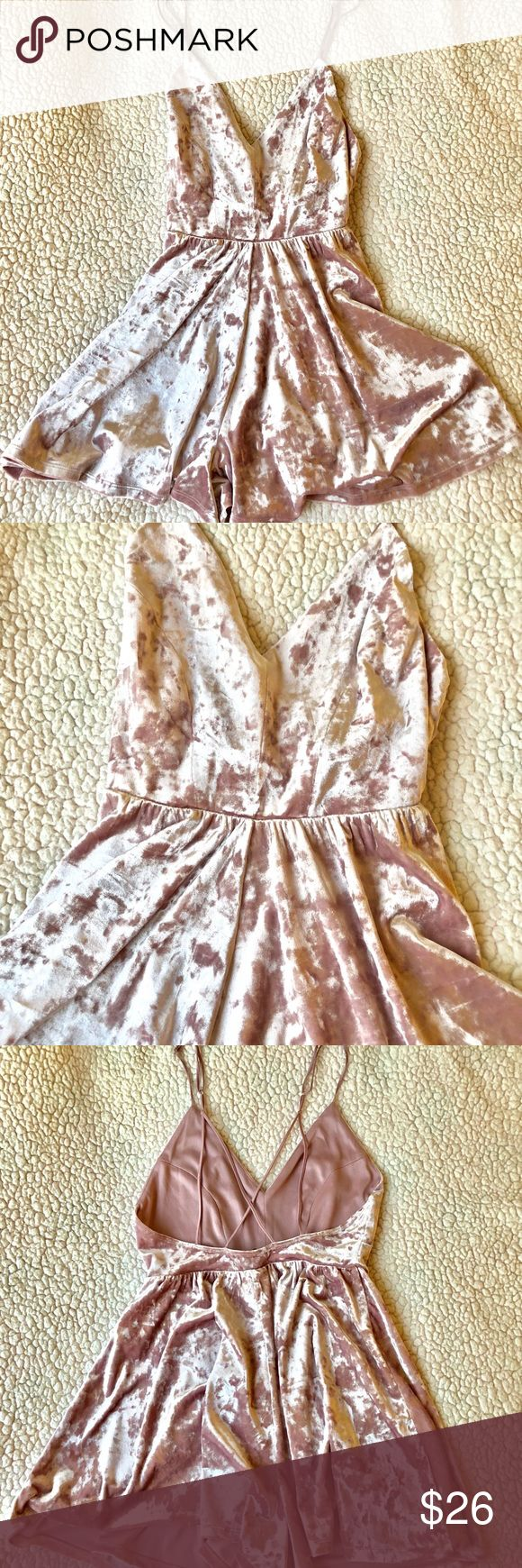 Velour shorts jumpsuit • Velour shorts jumpsuit from Forever 21 • BRAND NEW • In perfect condition  • No trades • Offers are always welcome  • Bundle 2 or more items for 10% off your entire purchase Forever 21 Other