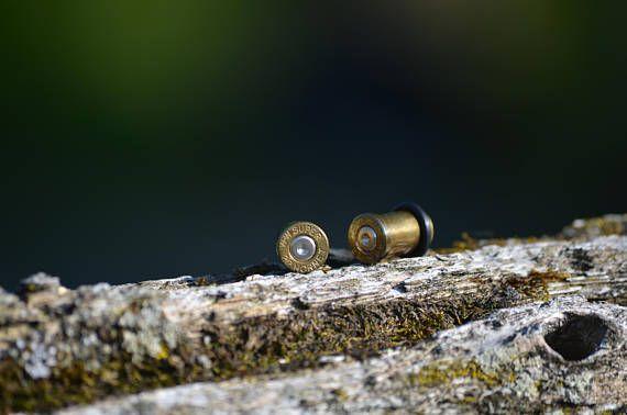 Size 2 bullet gauges! Check out this item in my Etsy shop https://www.etsy.com/ca/listing/547740547/22-hornet-bullet-gauges-2-6mm-ear-gauges