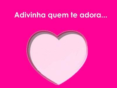 ✿⊱❥ Adivinha quem te adora...