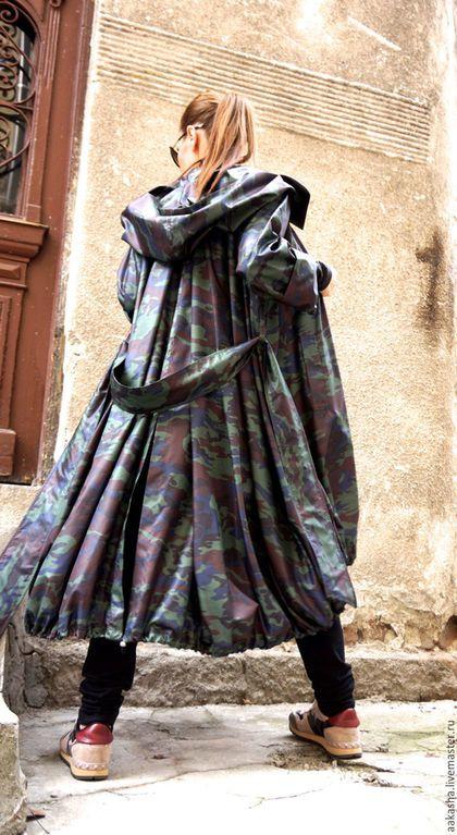 плащ стильный милитари свободная одежда длинный плащ ветровкаплащ стильный милитари свободная одежда длинный плащ ветровка