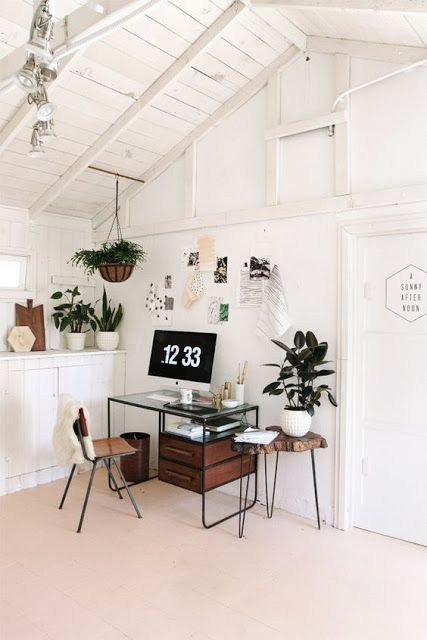 Фотографии интерьеров квартир и домов: Дизайн домашнего офиса