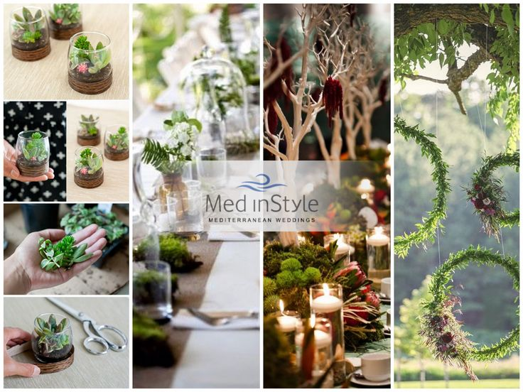 The tableau marriage, the placeholders, the wedding favors, the invitations, the bouquet, the boutonnières, the centerpieces and all the decorations: everything can be done according to the eco-friendly trade, by using recycled materials, fabrics, paper and natural fibers.
