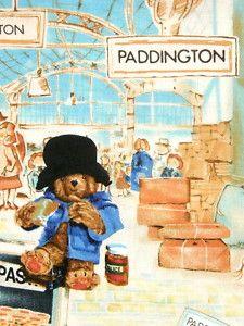 I love this Paddington Bear fabric