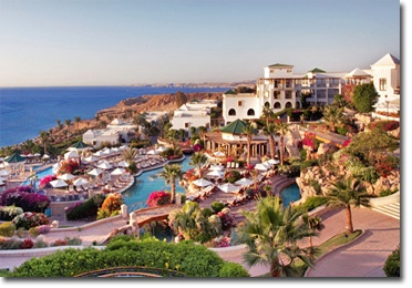 "Sharm El Sheikh, Egypt - Hyatt Regency.  Gotta love that it was features on ""Red Sea Jaws"" during Shark Week."