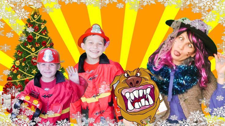 Little heroes 54 firefighters playing fire truck kids toys . Little Hero...