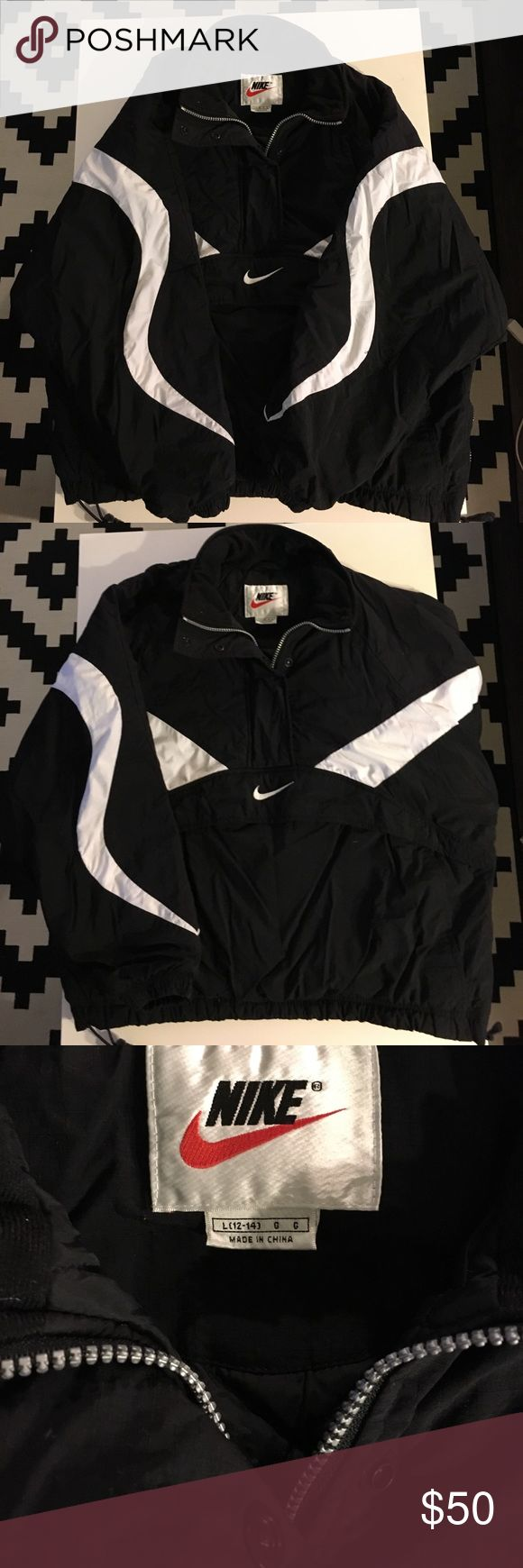 Retro Nike coat This is a decent condition retro Nike coat. Minimal defects. This will bring your retro game to the next level. Nike Jackets & Coats Ski & Snowboard