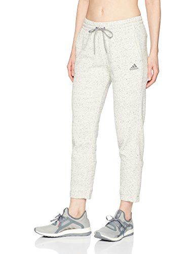 big sale ec355 6f871 adidas Womens Athletics Sport2Street 78 Pants White MelangeGrey Three  XXLarge    For more information, visit image link. (This is an affiliate  link)