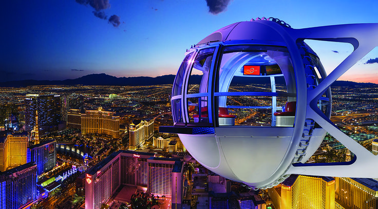 The High Roller in #LasVegas will give you an unprecedented look at the city.