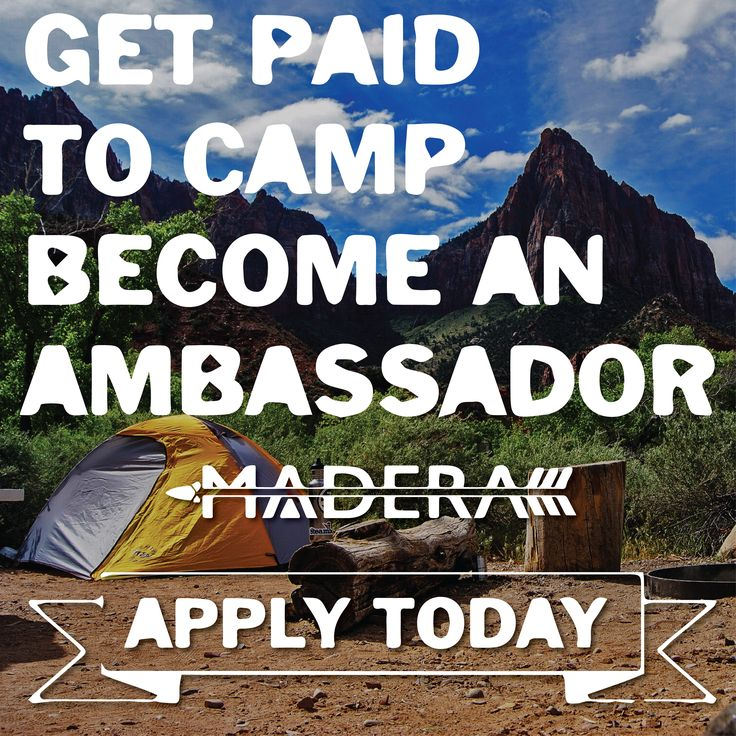 We're recruiting Brand Ambassador's Worldwide!!!! We're searching for passionate individuals that connect with Our backpacking hammocks and brand, as well as with the community around them! 🔥🗻😎 . Brand Ambassadors help others connect with Madera by promoting our product's in positive & active posts on the interwebs, or by simply sharing a promo code with others!! In return we pay you green money dollar bills for every resulting sale!!! Apply asap at maderaoutdoor.com or click the ..