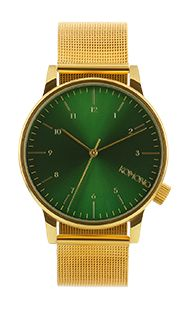 Komono Winston Royale Gold Green via Bohemian Dandy. Click on the image to see more!
