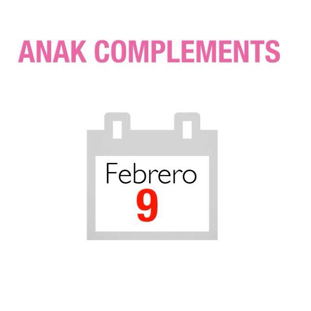 Después de meses trabajando , el próximo 9 de febrero sacare a la venta en la tienda online , la nueva colección ANAK COMPLEMENTS PRIMAVERA 2015  Espero que os guste !  Anakcomplements.blogspot.com