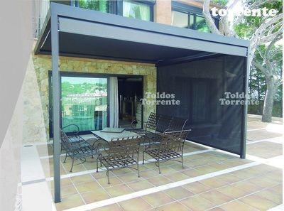 Pérgola aluminio Pergalum® AL5 - Pérgolas Barcelona TE®