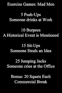 Mad Men work out