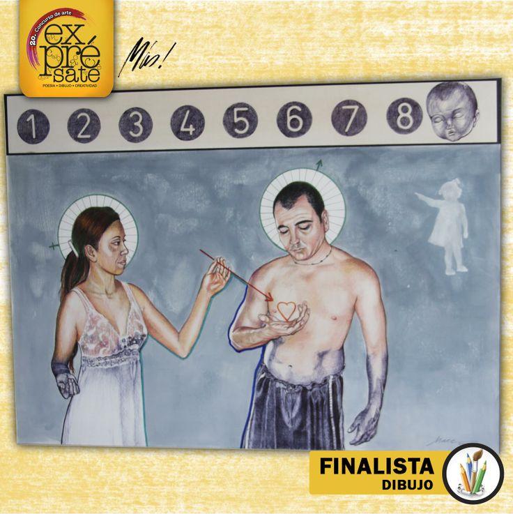 Dibujo hecho con #BoliBIC  Autor: Miguel Ángel Efigenio  #ExprésateMás 2013