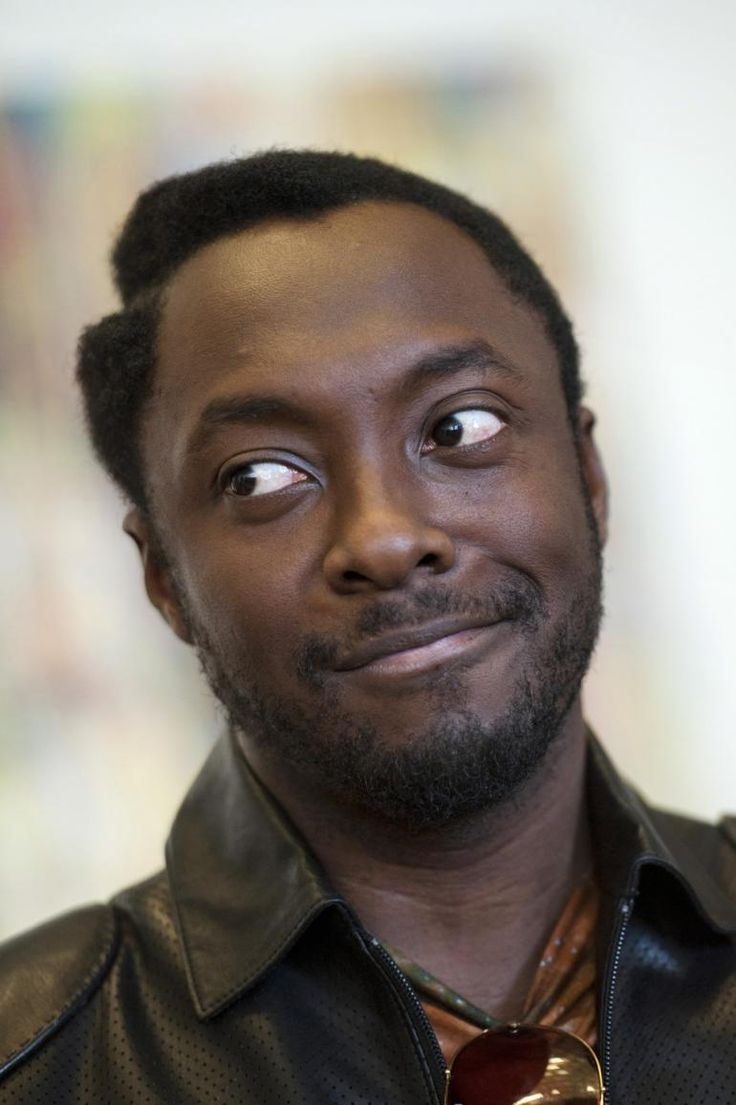 will.i.am Never fails to make me smile through the whole of my being. You wanna come over???!!! :)