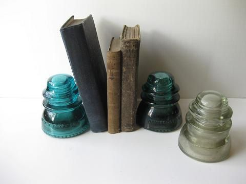glass insulators. I have no idea why I like these so much, but I do.