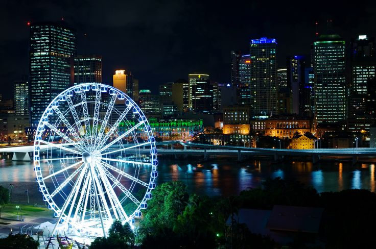 Wedding at Rydges South Bank | View from our Rooftop | Brisbane