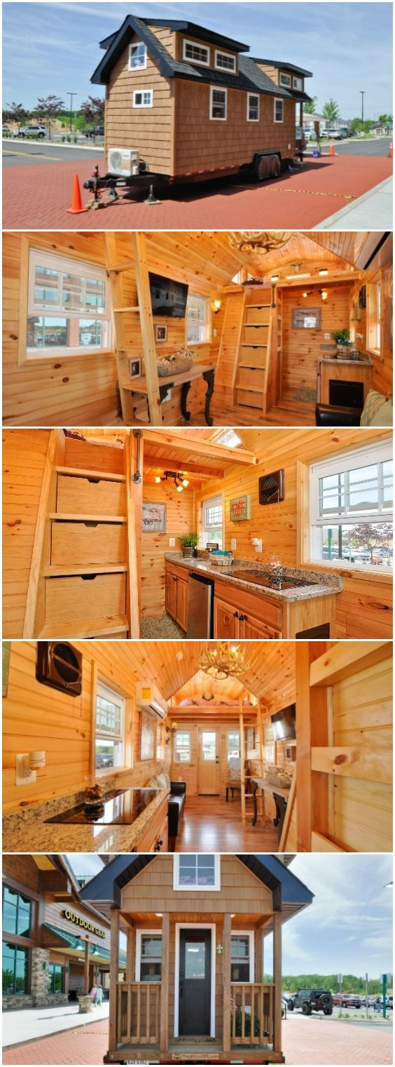 352sf Rustic Mountaineer Tiny House By Tiny House Building