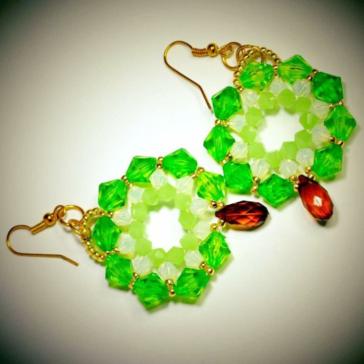Excited to share the latest addition to my #etsy shop: Earrings 4 http://etsy.me/2CXmRse #jewelry #earrings #no #women #green #brown #womanearrings #earringsgift #fashionearrings