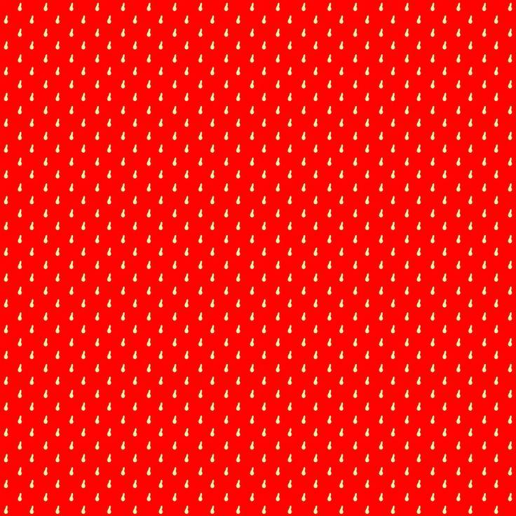 Free digital strawberry red scrapbooking paper - ausdruckbares Geschenkpapier - freebie   MeinLilaPark – DIY printables and downloads