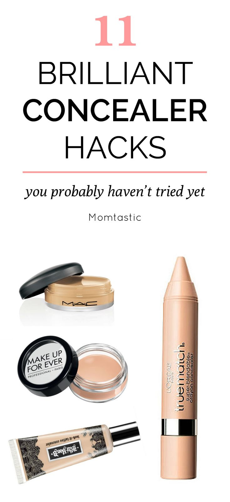 t's also quite the multitasking tool. From lip-plumper to brow-popper, here are some pretty brilliant concealer hacks I've discovered that you may not have thought of (plus some great brand recommendations).
