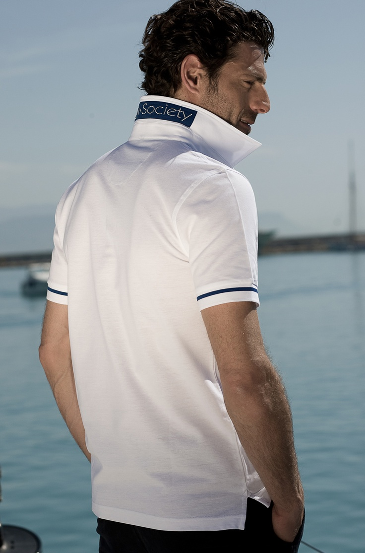 The Blue Boat polo-shirt - Polo High Society