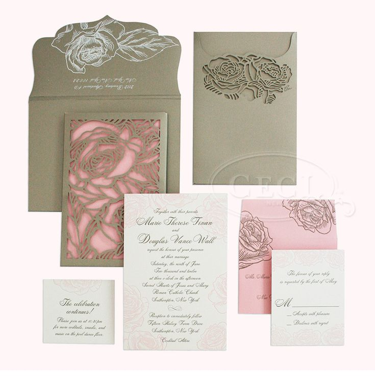 91 best ceci johnson invitation designer extraordinaire for Luxury handcrafted wedding invitations