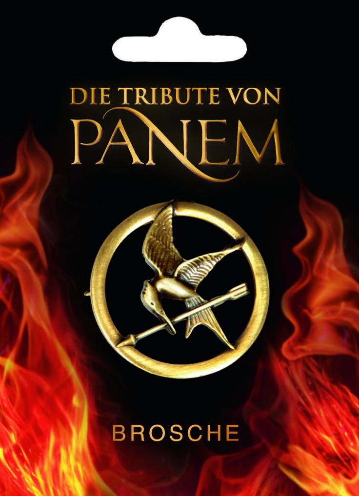 Die Tribute von Panem - Brosche