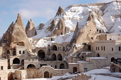 Hotel in Göreme near Cappadocia, TurkeyBuckets Lists, Favorite Places, Caves, Cappadociaturkey, Chimney Hotels, Rocks Formations, Fairies Chimney, Cappadocia Turkey, Travel
