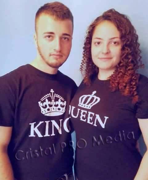Set tricouri cuplu King si Queen