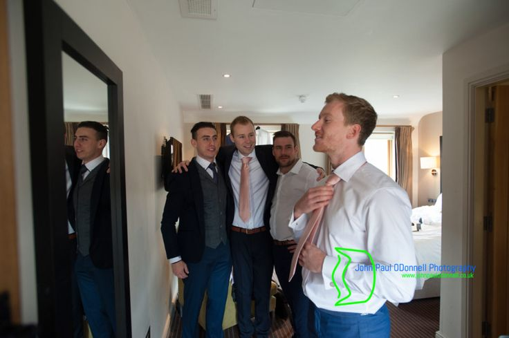 03 Groom and ushers getting ready