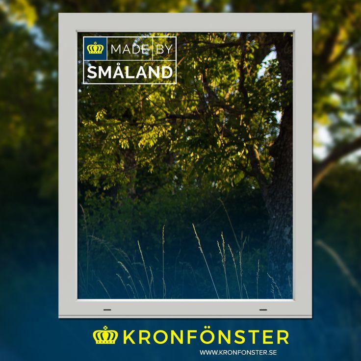 Fönster från Kronfönster - Made by Småland  Avans: Fast PVC-fönster 1-luft 3-glas  #PVCfönster #Avans #energifönster #fönster #Kronfönster  Läs mer » https://goo.gl/WQkpKF