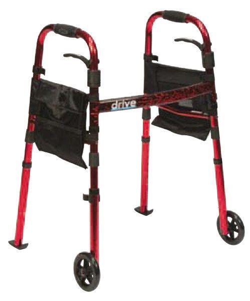 Andador 2 ruedas - Color Rojo   Andadores para Adultos ORTOPEDIA ONLINE