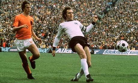 Franz Beckenbauer (Germany) - Johan Cruyff (Netherlands), 1974