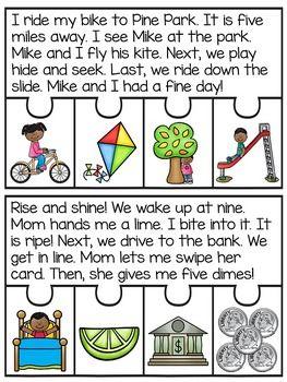 Reading Fluency Passages Puzzles BUNDLE