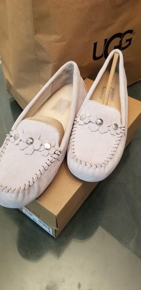 4dbec1516b1 UGG Lizzy Poppy Gray Moccasins Slippers New With Box Size 10 ...