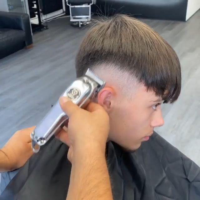 Drop Fade Haircut, Fade Haircut Styles, Crop Haircut, Beard Styles, Kids Fade Haircut, Mens Hairstyles With Beard, Boy Hairstyles, Haircuts For Men, Best Fade Haircuts
