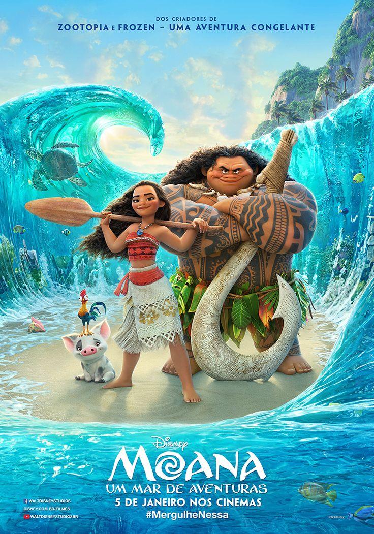 Moana - Um Mar de Aventuras | Animação com voz de Dwayne Johnson ganha novo…