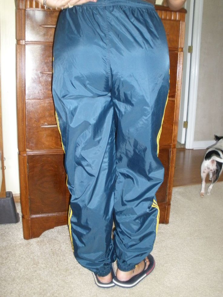 Pin By Mjh On Swishy Nylon Pants Pants Parachute Pants Fabric